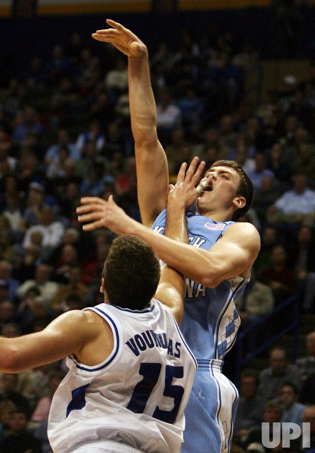 NORTH CAROLINA TAR HEELS VS SAINT LOUIS UNIVERSITY BILLIKENS