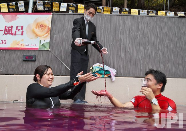 The Launch of Beaujolais Nouveau in Japan