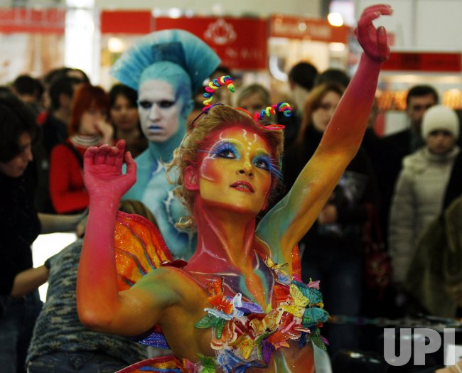 UKRAINIAN BODY-ART CHAMPIONSHIP IN KIEV