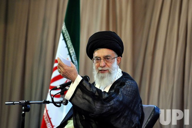 Iran's Leadear Ayatollah Ali Khamenei