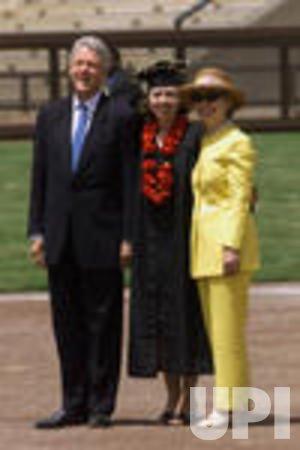 Chelsea Clinton Graduates Stanford University