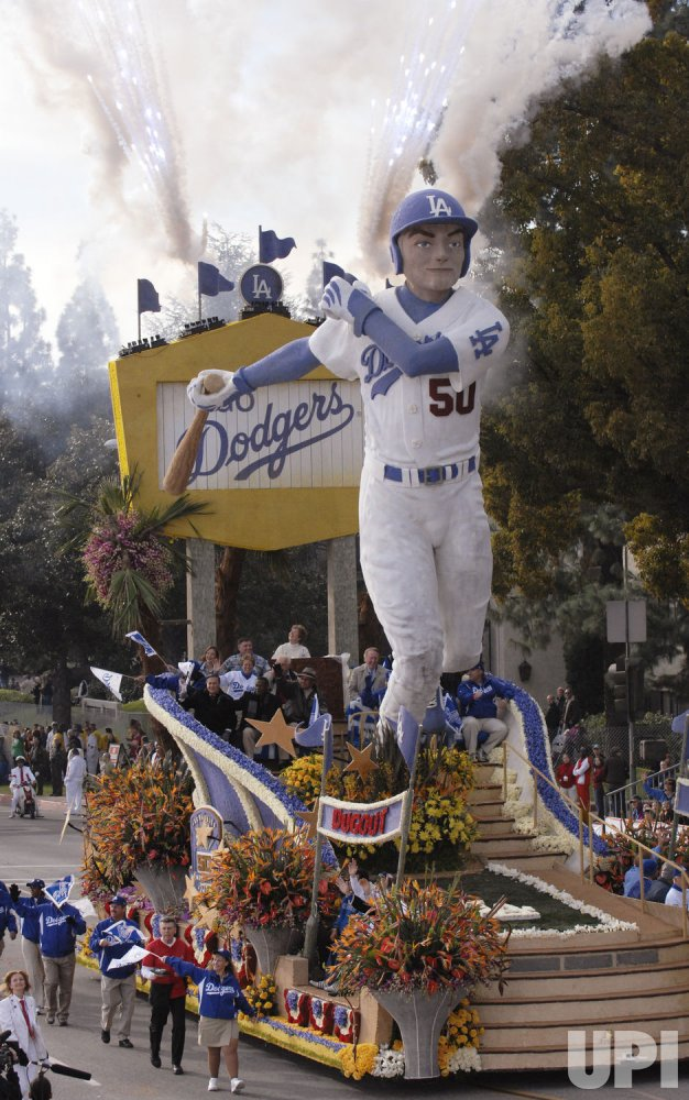 119th Tournament of Roses Parade in Pasadena