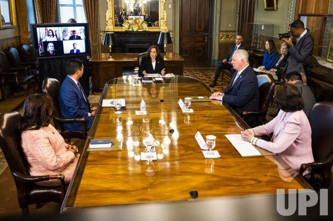 VP Harris meets with Congressional Hispanic Caucus