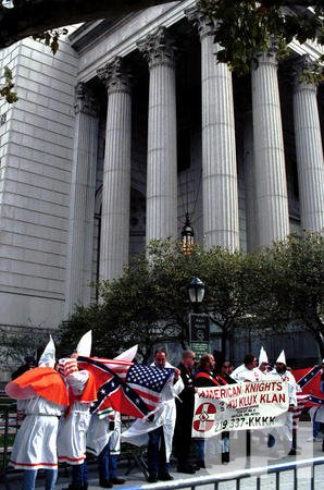 KKK rallies for the first time ever in New York City