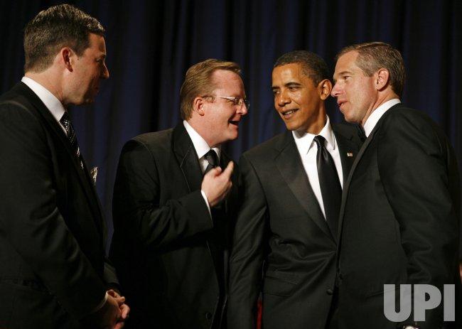 U.S. President Barack Obama attends the White House Correspondents' Dinner in Washington