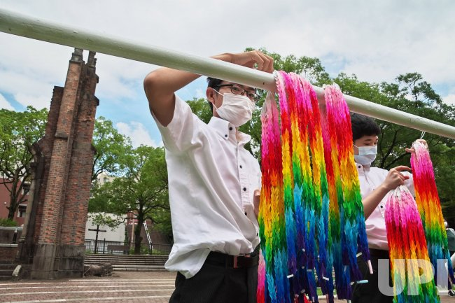 Ceremony Marks the 75th Anniversary of the Nagasaki Atomic Bombing
