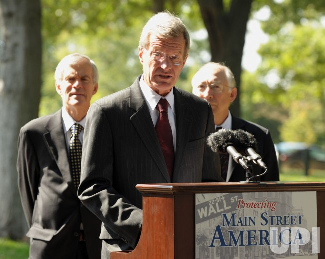 Sen. Baucus looks to extend renewable energy tax credit in Washington
