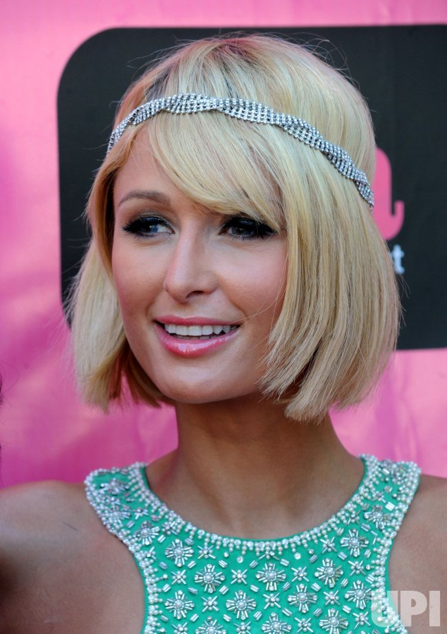 Paris Hilton promotes second season of reality show in Los Angeles