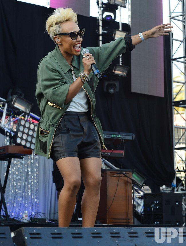 Emeli Sande performs at KIIS FM's Wango Tango 2013 in Carson, California
