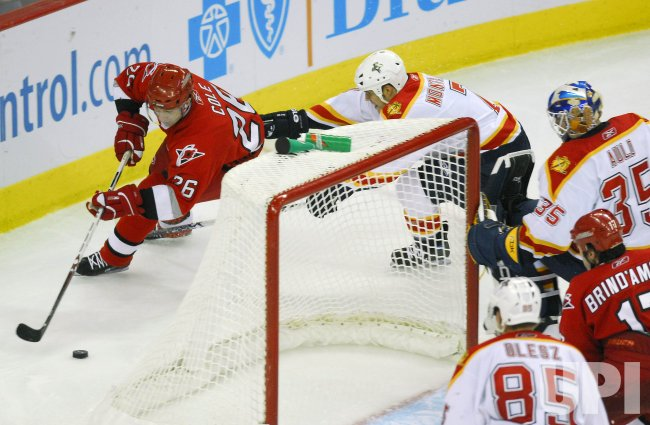 FLORIDA PANTHERS VS CAROLINA HURRICANES