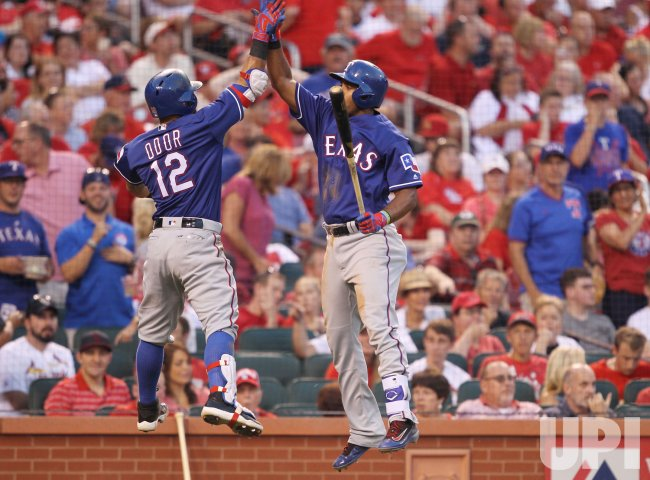 Texas Ranger Rougned Odor Hits Home Run