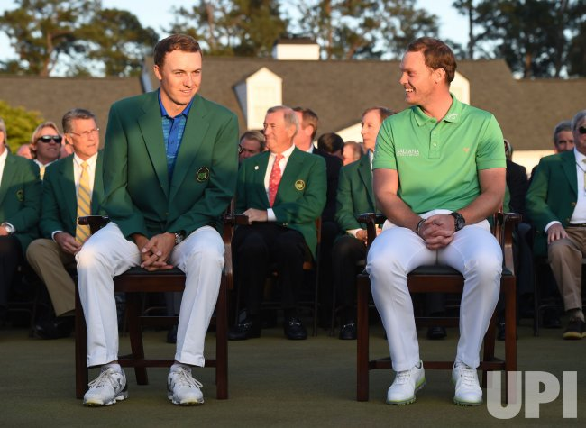 Jordan Spieth and Danny Willett at The Masters