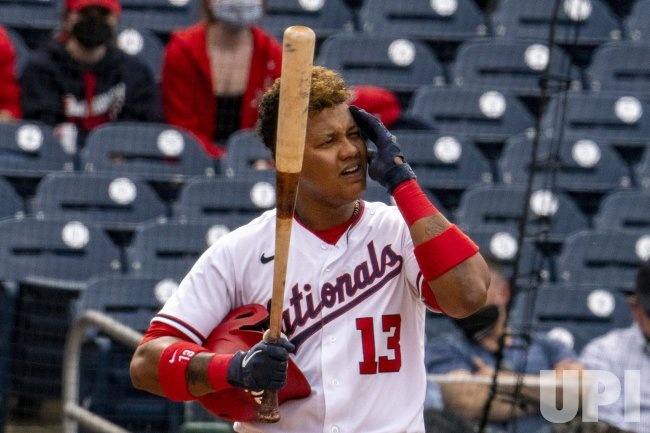 Washington Nationals second baseman Starlin Castro