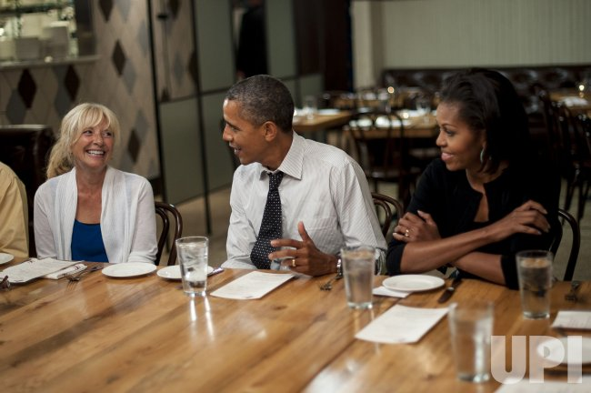 Dinner with Barack and Michelle in Washington, DC