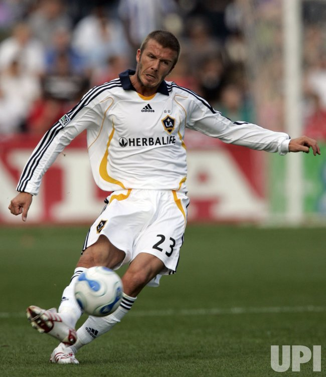 The Los Angeles Galaxy vs. the Chicago Fire
