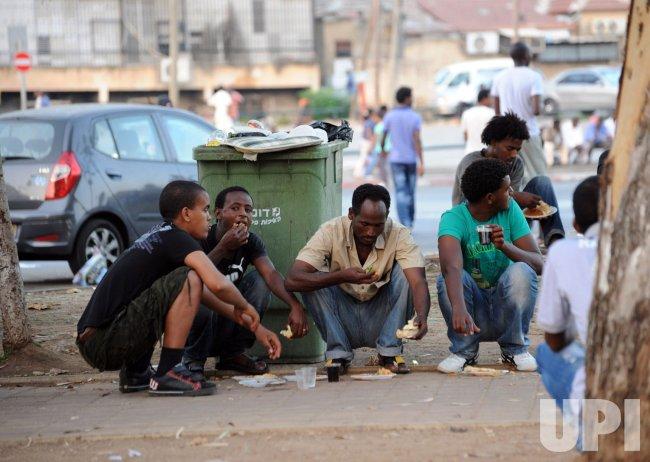 African Migrants In Tel Aviv