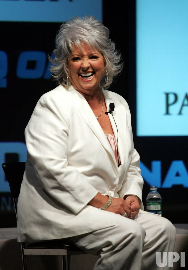Paula Deen rings closing bell at the NASDAQ in New York