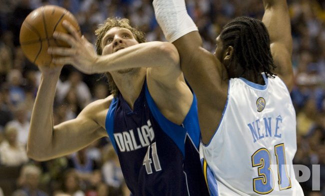 Dallas Mavericks vs Denver Nuggets In Denver