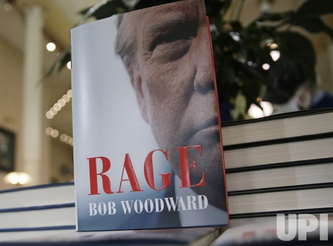 "Copies of ""Rage"" by Bob Woodward on Sale in New York"