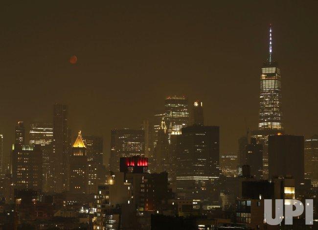 West Coast Smoke and Haze Reaches New York City