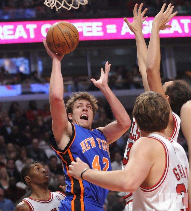 NBA Basketball New York Knicks vs Chicago Bulls