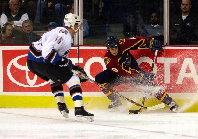 Atlanta Thrashers at Washington Capitals