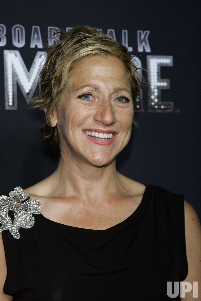 "Edie Falco arrives for the premiere of ""Boardwalk Empire"" in New York"