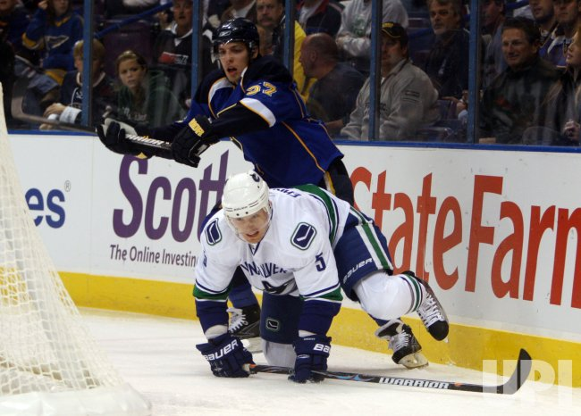 St. Louis Blues David Perron