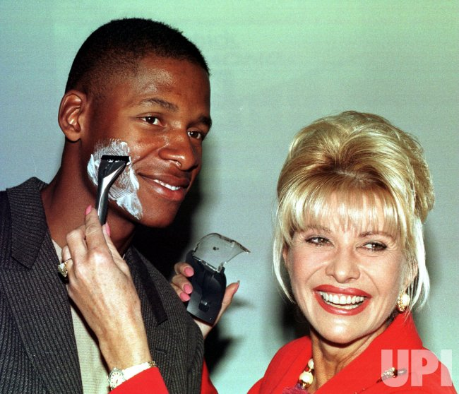 Ivana Trump helps launch a new unisex shaving razor