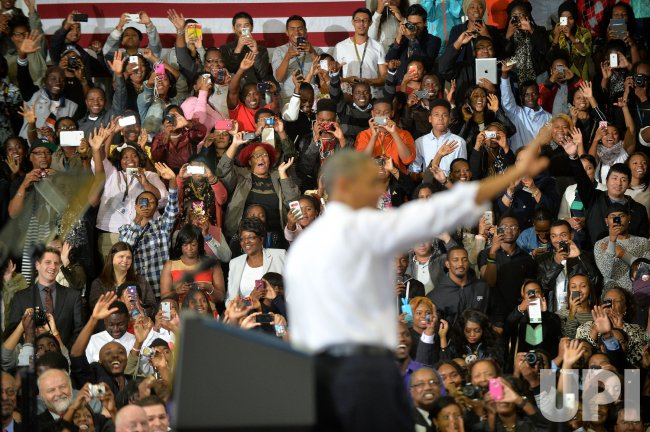 President Obama speaks on the Affordable Care Act in Maryland