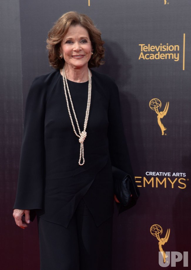 Jessica Walter attends the Creative Arts Emmy Awards in Los Angeles