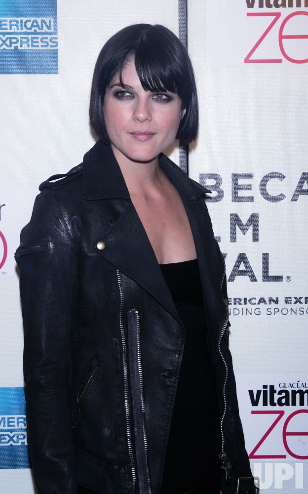 "Selma Blair arrives at the Tribeca Film Festival premiere of ""Nice Guy Johnny"" in New York"
