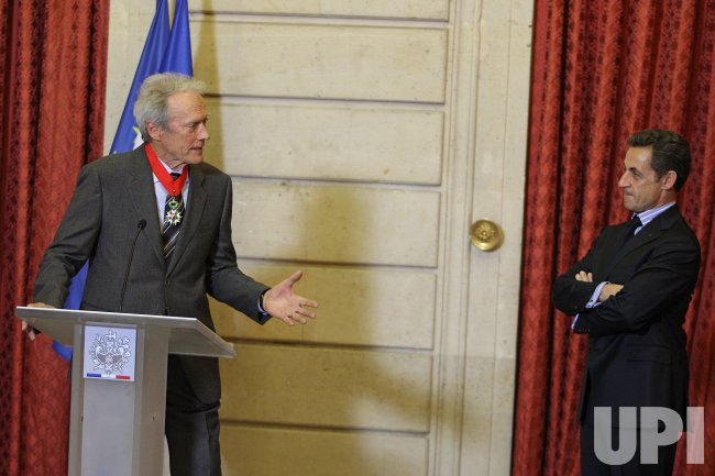 Clint Eastwood receives the French Legion of Honor Medal