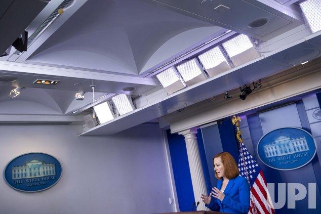White House Press Secretary Jen Psaki daily briefing