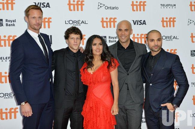 Salma Hayek and cast attend 'The Hummingbird Project