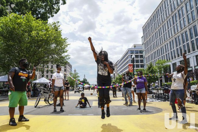 Black Lives Matter Supporters Participate in Demonstrations