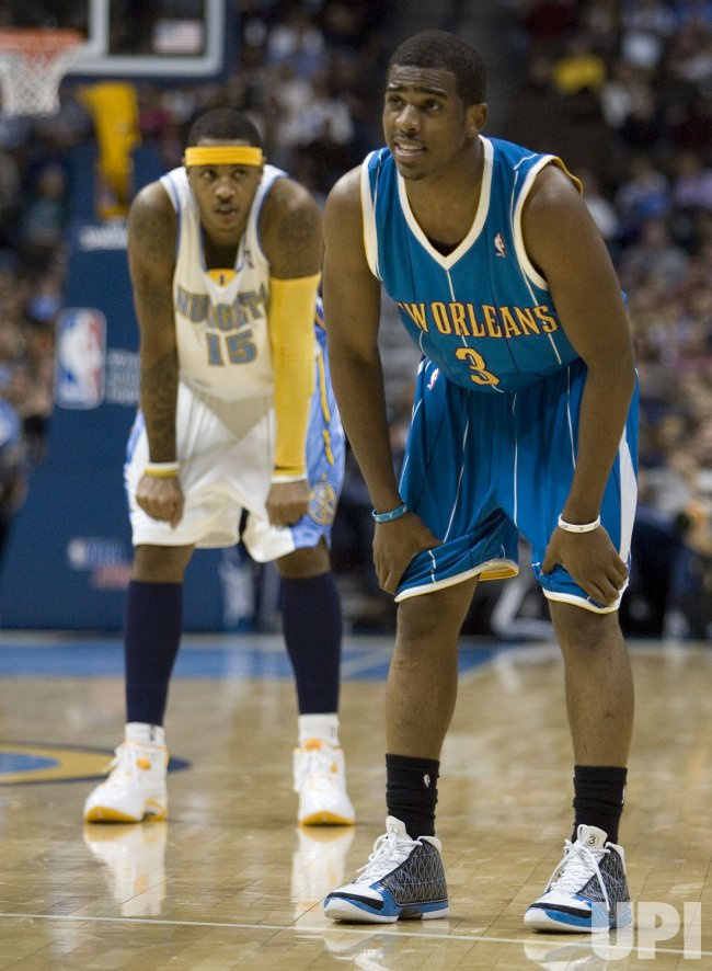 NBA Denver Nuggets host New Orleans Hornets