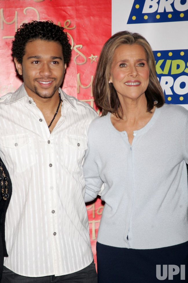 "Corbin Bleu and Meredith Vieira attend the 14th Annual Kids' Night on Broadway ""Fan Festival"" at Madame Tussauds in New York"