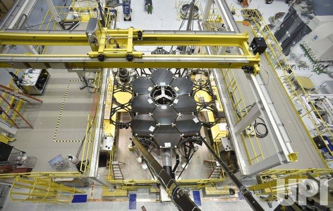 James Webb Space Telescope Mirror Halfway Complete
