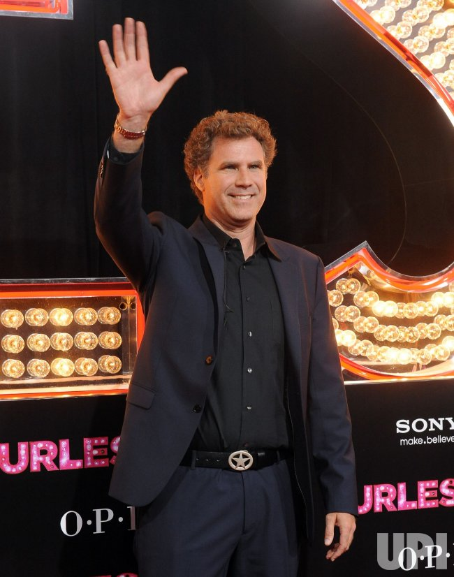 "Will Ferrell arrives at the ""Burlesque"" premiere in Los Angeles"