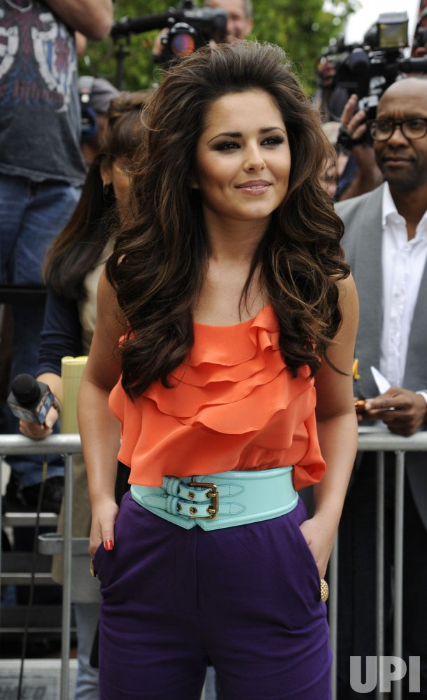 """Judge Cheryl Cole arrives for the first round of auditions for """"The X Factor"""" in Los Angeles"""