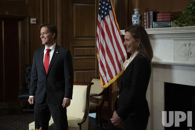Senators Meet With Supreme Court Nominee Amy Coney Barrett
