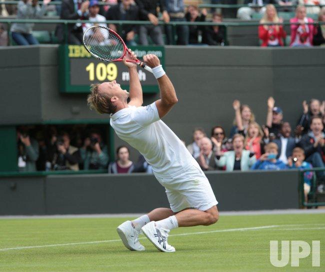 Richard Darcis at 2013 Wimbledon Championships
