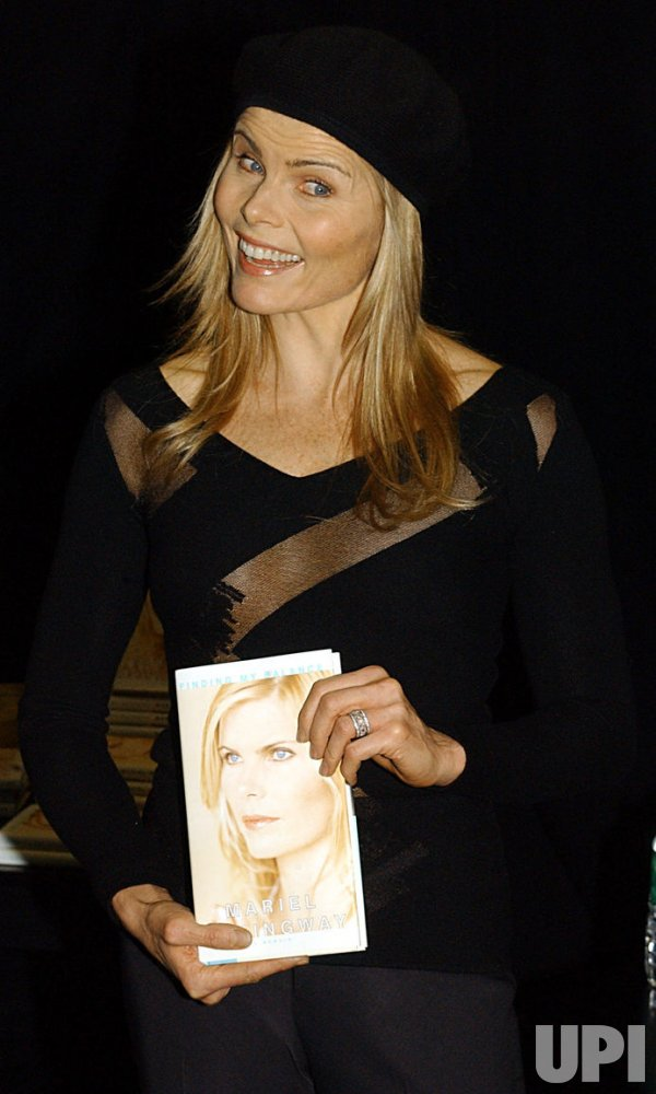 "Mariel Hemingway promos her biography ""Finding My Balance"""