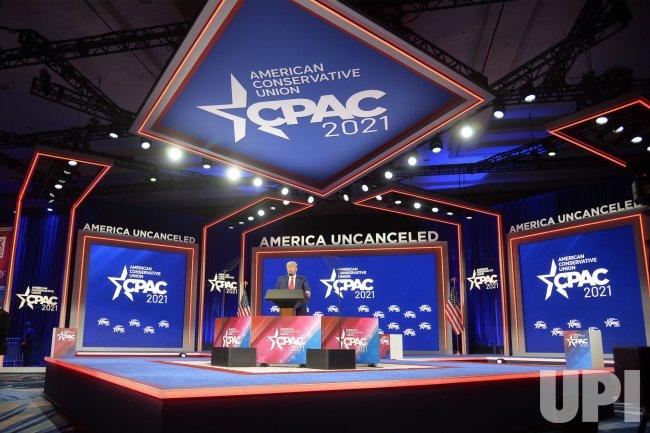 President Trump Speaks at CPAC 2021 in Orlando, Florida