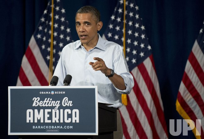 President Obama Campaigns in Ohio