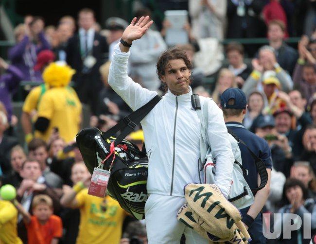 Rafael Nadal loses at 2013 Wimbledon Championships