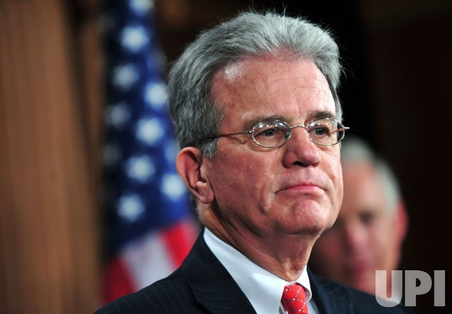 Sen. Tom Coburn speaks on the cut, cap and balance bill in Washington