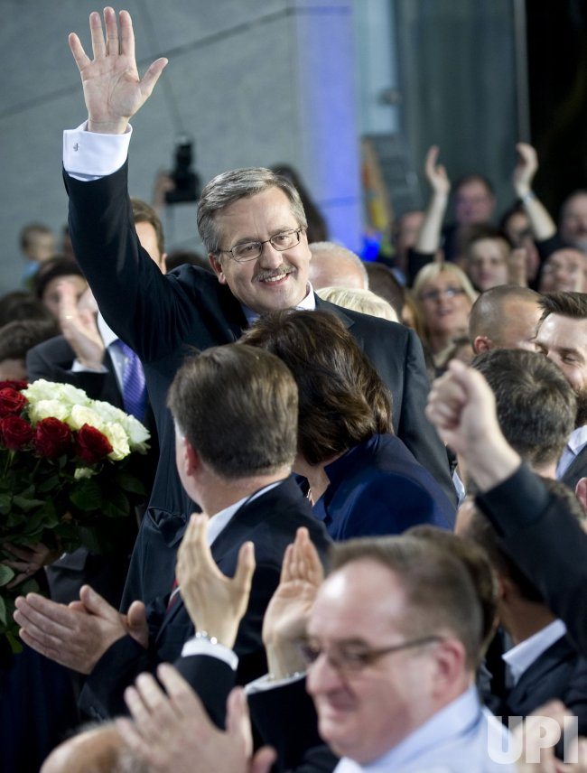 Komorosski Wins Polish Presidential Election