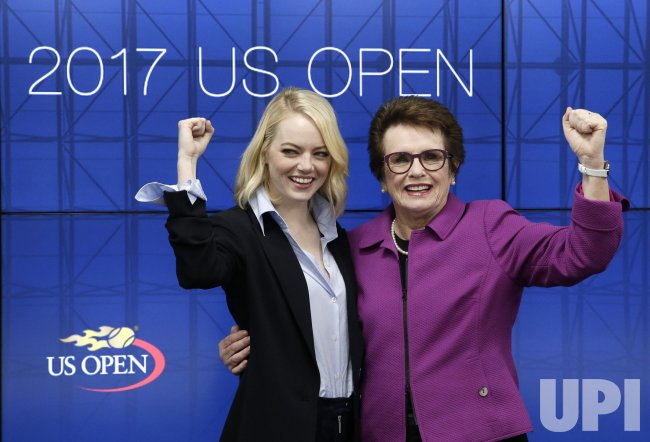 'Battle of the Sexes' cast at the US Open